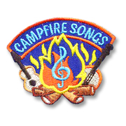 Campfire Songs Girl Scout Fun Patch