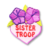 Sister Troop Girl Scout Fun Patch