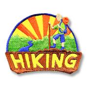 Hiking Girl Scout Fun Patch