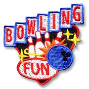 Bowling Fun Girl Scout Patch