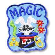Magic Girl Scout Fun Patch