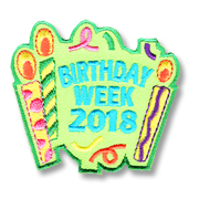 Birthday Week 2018 Girl Scout Fun Patch