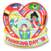 Thinking Day '18 Girl Scout Fun Patch