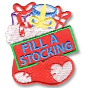 Fill a Stocking Girl Scout Fun Patch