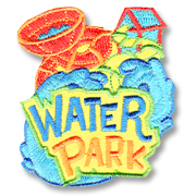 Water Park Girl Scout Fun Patch