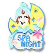 Spa Night Girl Scout Fun Patch
