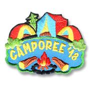 Camporee '18 Girl Scout Fun Patch
