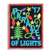 Parade of Lights Girl Scout Fun Patch