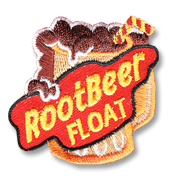 Root Beer Float Girl Scout Fun Patch