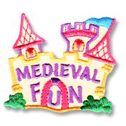 Medieval Fun Girl Scout Fun Patch