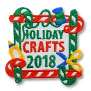 Holiday Crafts 2018 Girl Scout Fun Patch
