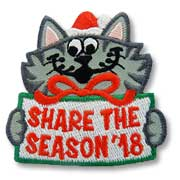 Share the Season '18 Girl Scout Fun Patch