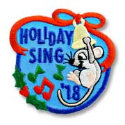 Holiday Sing '18 Girl Scout Fun Patch