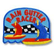 Rain Gutter Regatta Girl Scout Fun Patch
