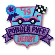 Powder Puff Derby Girl Scout Fun Patch