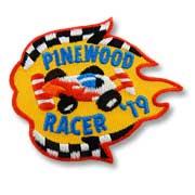 Pinewood Racer '19 Girl Scout Fun Patch