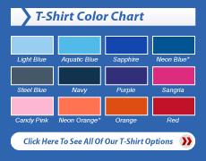 Choose Your Shirt Color